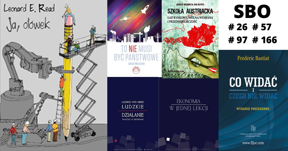 6 książek o wolnym rynku, które musisz przeczytać